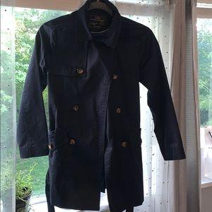 Zara water resistant trench coat